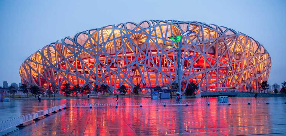 Beijing National Stadium, Beijing, China, Ten Most Unusual Buildings From  Around The World