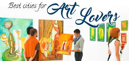 TraveLibro Best Cities for Art Lovers