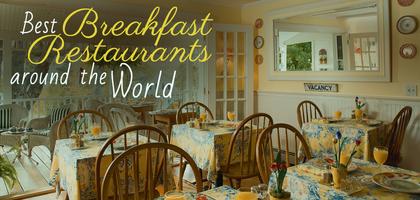 TraveLibro Top 10 Breakfast Restaurants Around The World