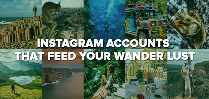 TraveLibro 10 Unique Travel Instagram Accounts to Follow