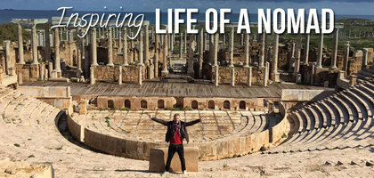 TraveLibro Blogger Interview: Johnny Ward, A Nomad