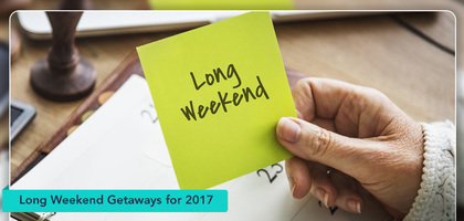 TraveLibro Make the most of the long weekends in 2017: Getaways in India