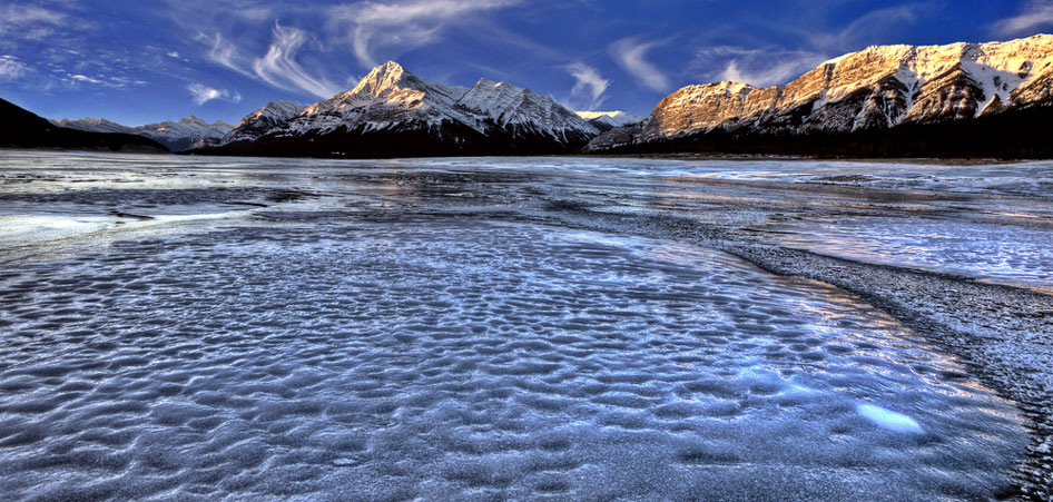 Abraham Lake, Canada, Top 10 Lakes In The World   TraveLibro Travel Blog