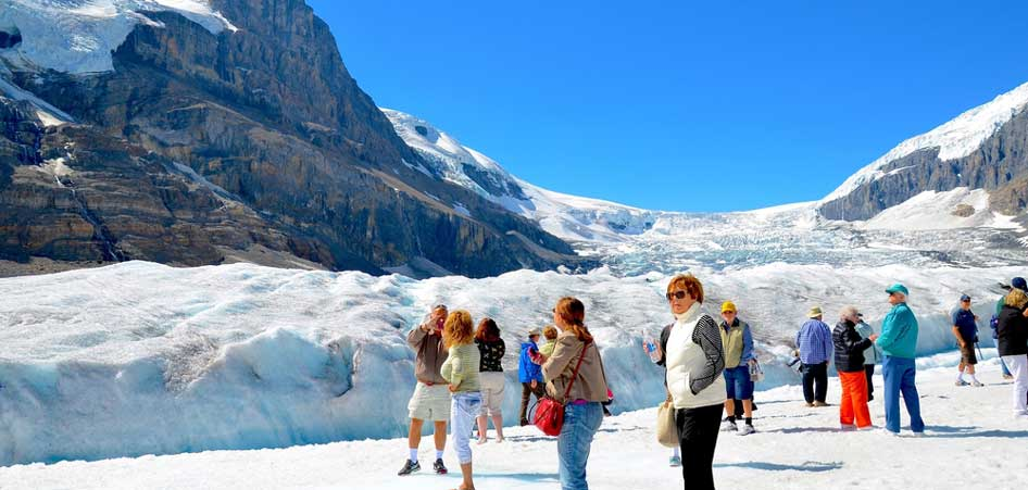 Athabasca Glacier, Canada | 15 Best Glacier Hikes In The World | TraveLibro Travel Blog