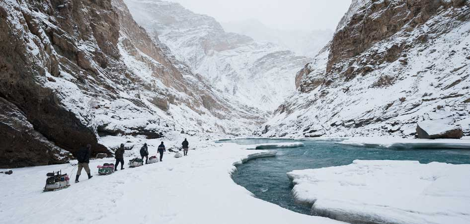 Chadar Trek, Ladakh | 15 Best Glacier Hikes In The World | TraveLibro Travel Blog