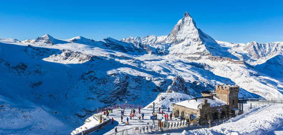 The Matterhorn Glacier, Switzerland | 15 Best Glacier Hikes In The World | TraveLibro Travel Blog