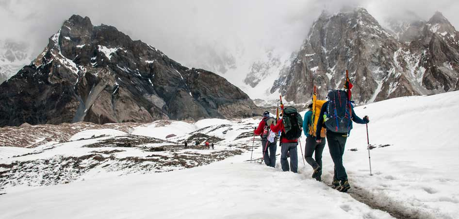 Baltoro Glacier, Pakistan | 15 Best Glacier Hikes In The World | TraveLibro Travel Blog