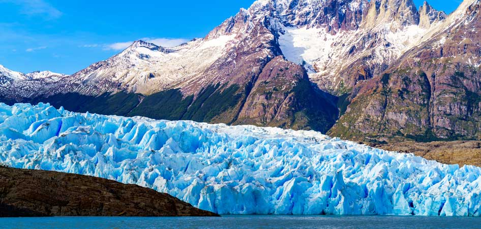 Grey Glacier, Chile | 15 Best Glacier Hikes In The World | TraveLibro Travel Blog