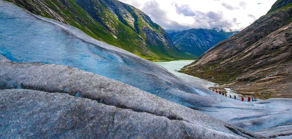 Jostedalsbreen Glacier, Norway  | 15 Best Glacier Hikes In The World | TraveLibro Travel Blog