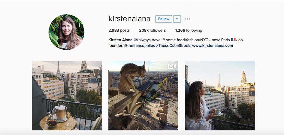 Kirsten Alana , 10 Unique Travel Instagram Accounts to Follow   TraveLibro Travel Blog