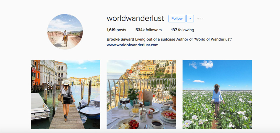 World Of Wanderlust , 10 Unique Travel Instagram Accounts to Follow | TraveLibro Travel Blog