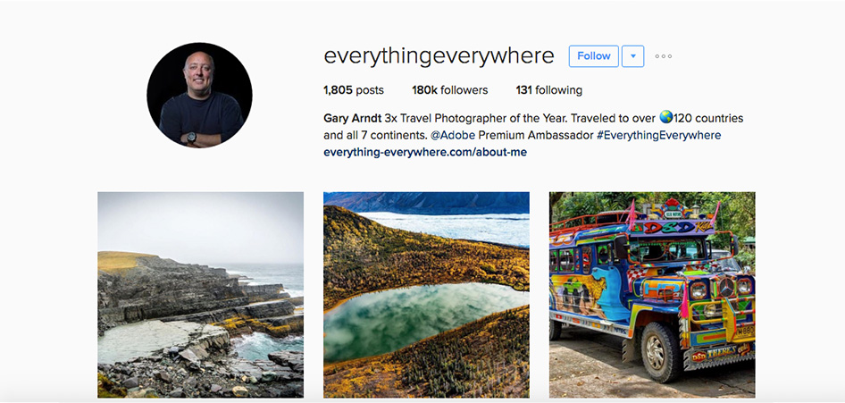 Everything Everywhere, 10 Unique Travel Instagram Accounts to Follow | TraveLibro Travel Blog