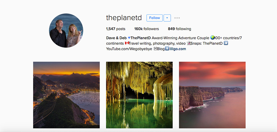 The Planet D, 10 Unique Travel Instagram Accounts to Follow | TraveLibro Travel Blog