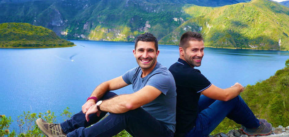 Nomadic Boys | Top LGBT Travellers We Love | TraveLibro Travel Blog