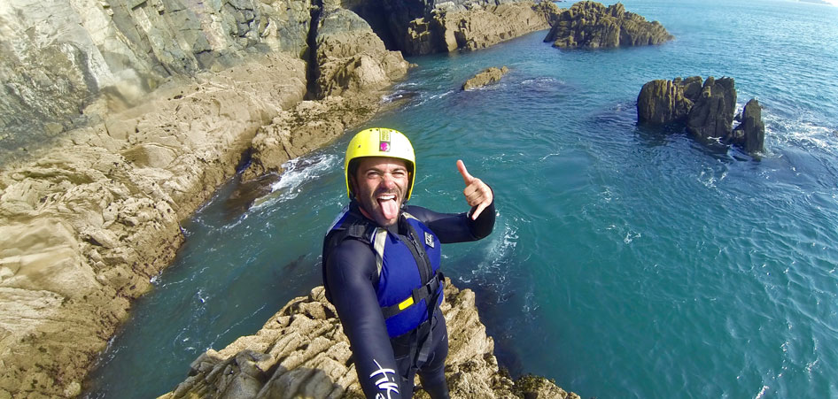 Coasteering Pembrokeshire Wales | Interview With Around the World With Justin | TraveLibro Travel Blog
