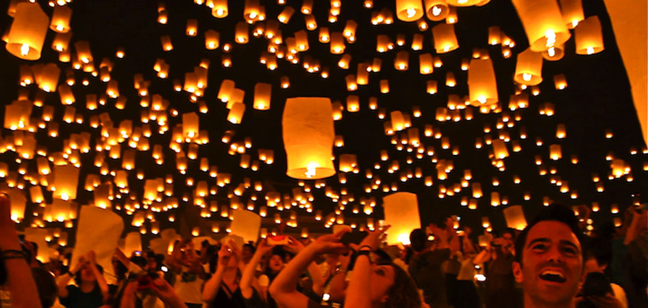 Yi Peng Lantern Festival | Interview With Around the World With Justin | TraveLibro Travel Blog