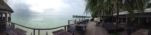 travelibro Maldives Male Club Med Kani, Maldives Lagoon_Bar.JPG