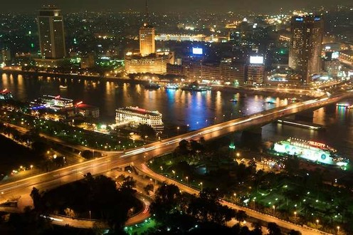 travelibro Egypt Cairo Private Tour: Visit Egyptian museum - Citadel of Saladin - Churches of St Sergio's - Hanging Church and Ben Ezra synagogue 090222-eg_cairo-tower-noche.jpg