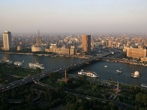 travelibro Egypt Cairo Private Tour: Visit Egyptian museum - Citadel of Saladin - Churches of St Sergio's - Hanging Church and Ben Ezra synagogue Cairo-view_1-from-Cairo-tower.jpg