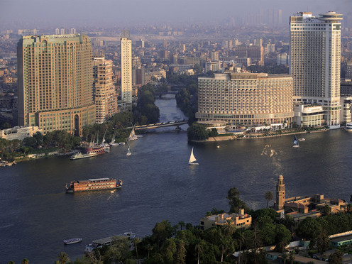 travelibro Egypt Cairo Private Tour: Visit Egyptian museum - Citadel of Saladin - Churches of St Sergio's - Hanging Church and Ben Ezra synagogue Cairo-view-from-Cairo-tower.jpg