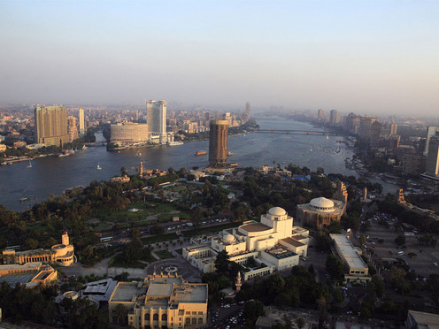 travelibro Egypt Cairo Private Tour: Visit Egyptian museum - Citadel of Saladin - Churches of St Sergio's - Hanging Church and Ben Ezra synagogue Cairo-view-from-Cairo-tower-1.jpg