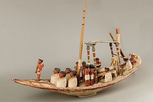 travelibro Egypt Cairo Private Tour: Visit Egyptian museum - Citadel of Saladin - Churches of St Sergio's - Hanging Church and Ben Ezra synagogue Egyptian_funerary_boat_model._MET..jpg