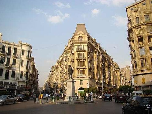 travelibro Egypt Cairo Private Tour: Visit Egyptian museum - Citadel of Saladin - Churches of St Sergio's - Hanging Church and Ben Ezra synagogue el_centro_del_cairo.jpg