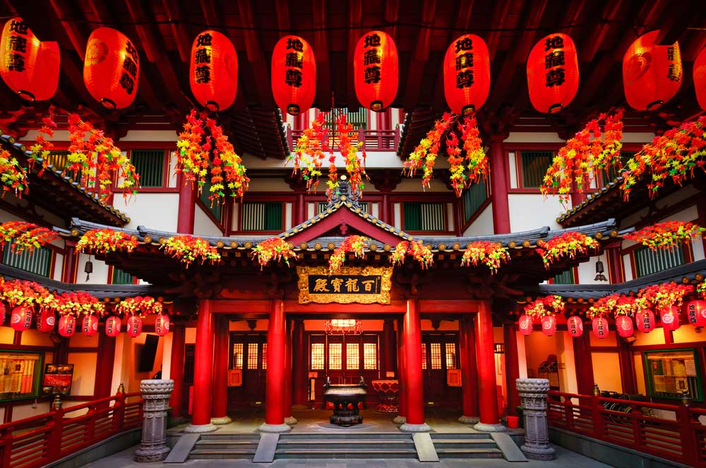 travelibro Singapore Singapore Singapore Backpacking Buddha Tooth Relic Temple