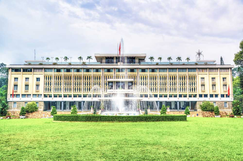 Reunification palace ho chi minh  posztos %28slash%29 shutterstock dot com