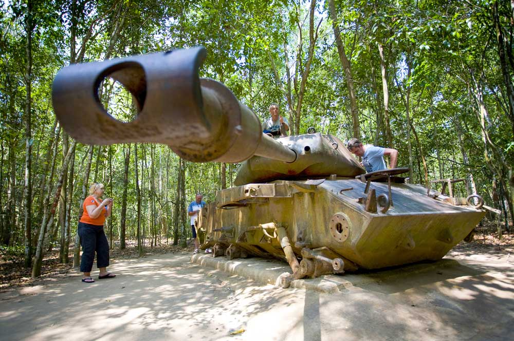 Cu chi tunnel tour peter stuckings  shutterstock