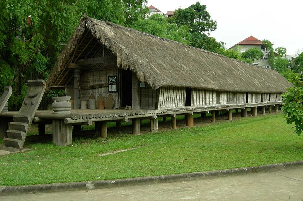 Ethnology museum  rungbachduong at the vietnamese language wikipedia via wikimedia commons