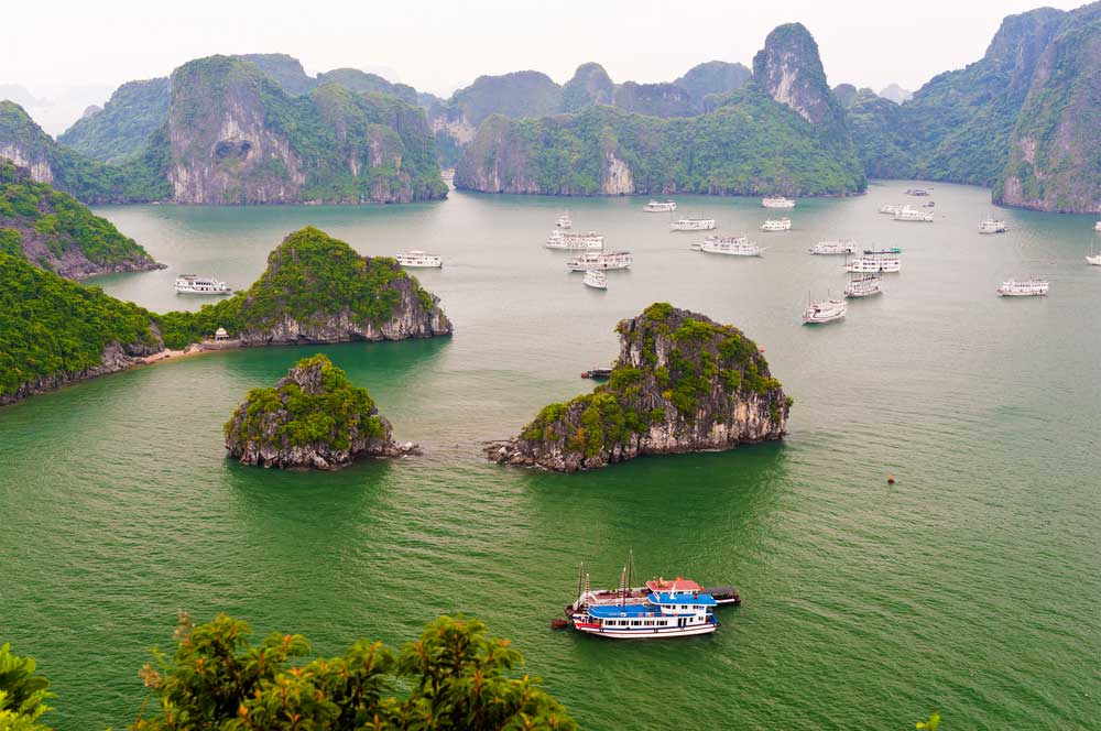 Halong bay via sht stk