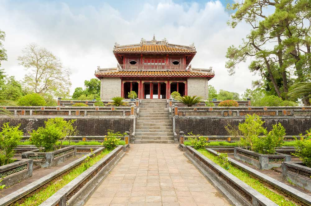 Tomb of minh mang via sht stk