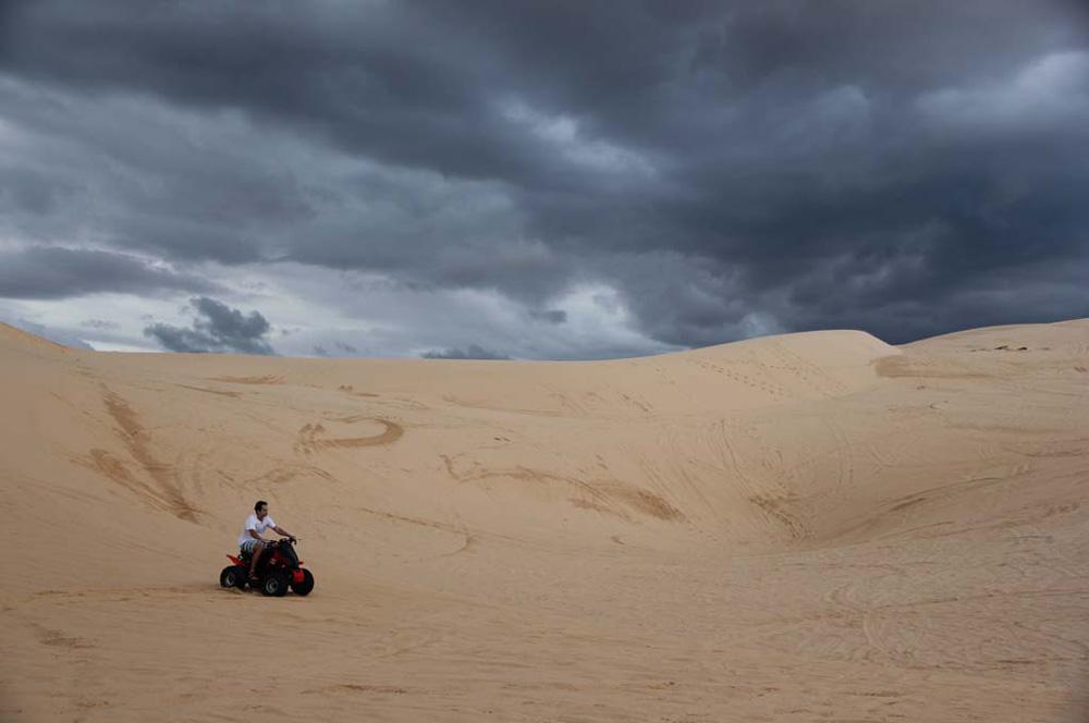 travelibro Vietnam Da Lat Hanoi Ho Chi Minh City Hoi An Hue Mui Ne Nha Trang Sa Pa Explore Vietnam Quad biking at White Sand Dunes