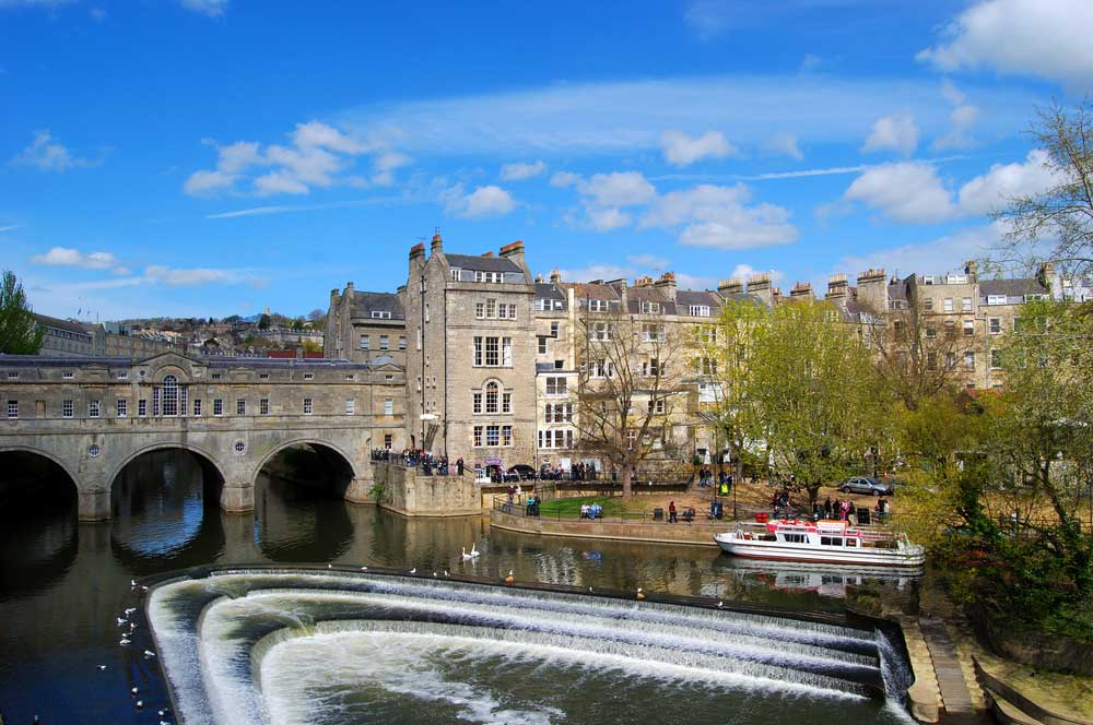 travelibro United Kingdom Bath Cumbria Durham Edinburgh London St Ives Windsor UK Honeymoon Pulteney Bridge