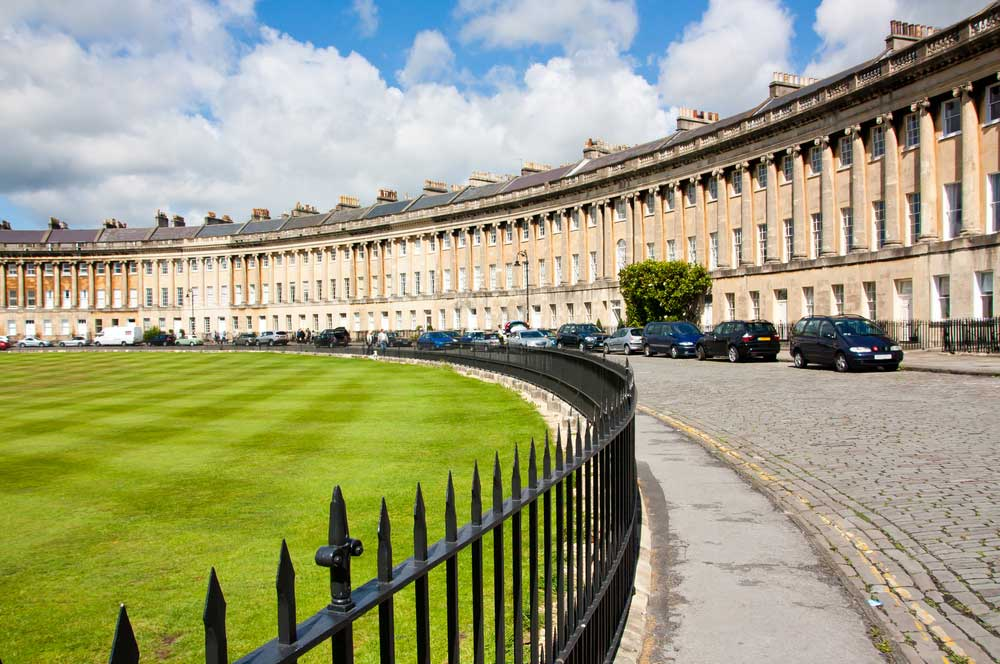 Royal crescent bathh