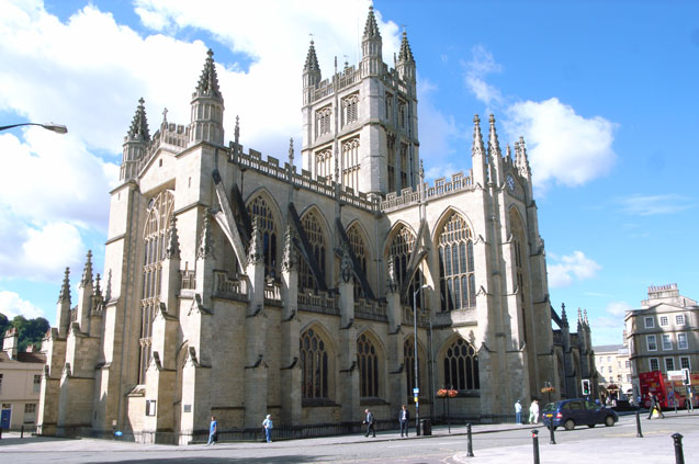 11 bath abbey steve cadman wikimedia commons