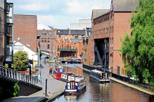 travelibro United Kingdom Birmingham Leeds Liverpool London Newcastle UK Budget Birmingham Canal Boatride