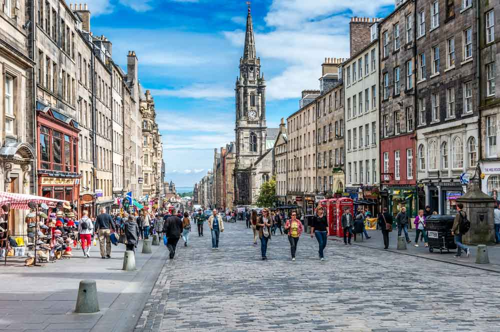 travelibro United Kingdom Edinburgh Explore Edinburgh Royal Mile