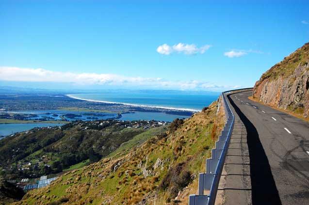 travelibro New Zealand Auckland Christchurch Franz Josef Queenstown Rotorua Taupo Wanaka Wellington Whitianga NZ Honeymoon Views from Summit Road