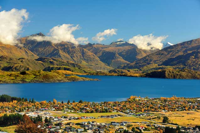 travelibro New Zealand Auckland Christchurch Franz Josef Queenstown Rotorua Wellington New Zealand Budget Wanaka & Lake Wanaka