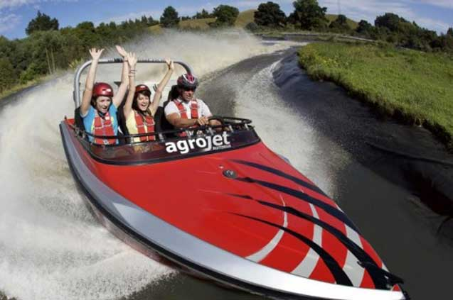 travelibro New Zealand Auckland Rotorua Taupo North New Zealand Agrojet - Jet Boating