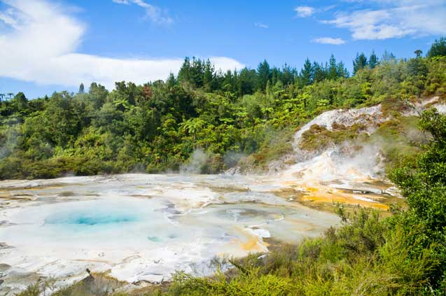travelibro New Zealand Auckland Rotorua Taupo North New Zealand Orakei Korako Cave and Thermal Park