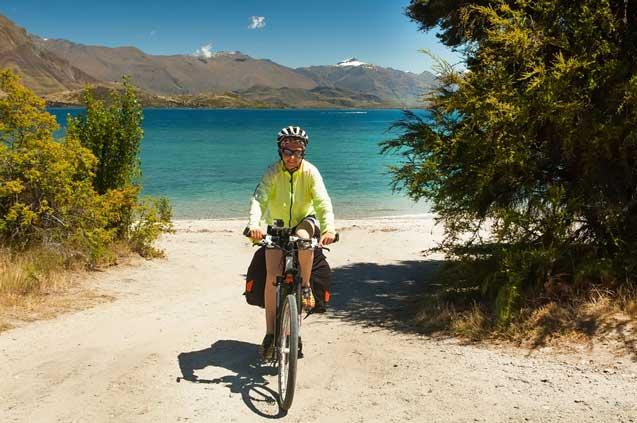 travelibro New Zealand Auckland Christchurch Franz Josef Queenstown Rotorua Taupo Wanaka Wellington Whitianga NZ Honeymoon Biking Tracks