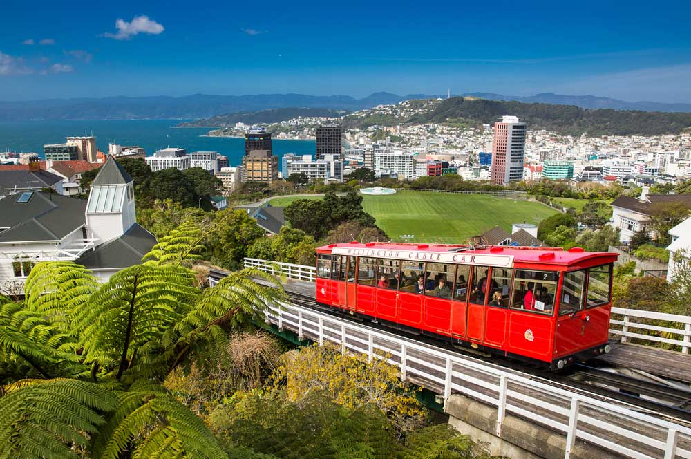 travelibro New Zealand Auckland Christchurch Franz Josef Queenstown Rotorua Wellington New Zealand Budget Wellington Cable Car