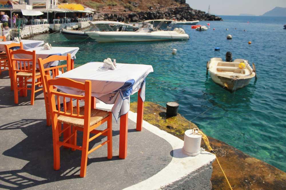 travelibro Greece Santorini Romantic Santorini Amoudi Bay