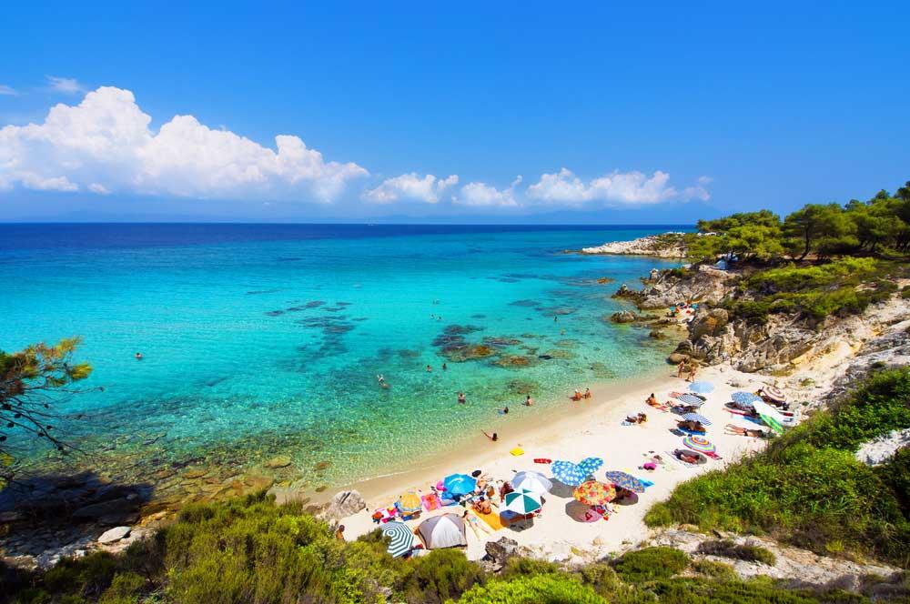 travelibro Greece Athens Corfu Crete Halkidiki Santorini Thessaloniki Greece Family Beaches of Halkidiki