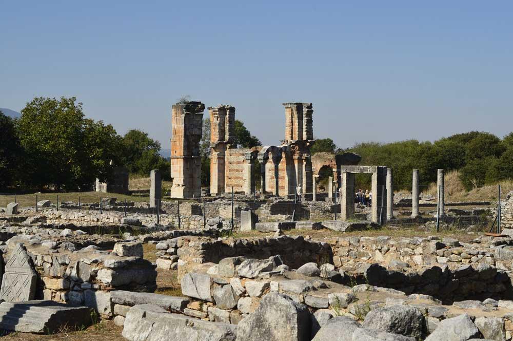 travelibro Greece Athens Corfu Crete Halkidiki Santorini Thessaloniki Greece Family Ruins of Philippi