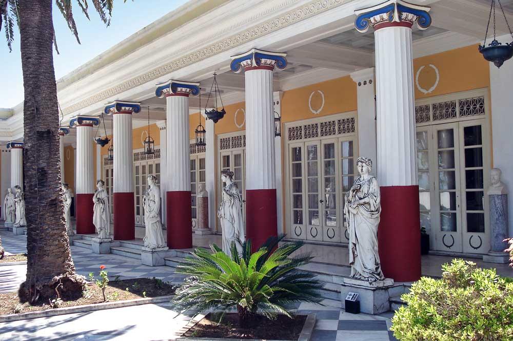 travelibro Greece Athens Corfu Crete Halkidiki Santorini Thessaloniki Greece Family Achillion Palace
