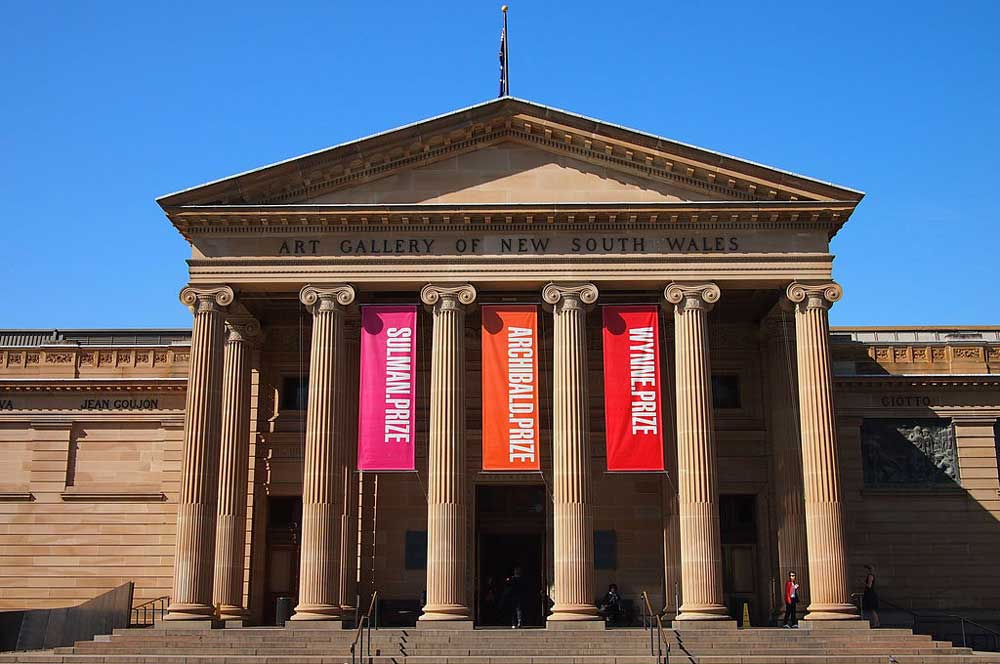 travelibro Australia Sydney Spectacular Sydney Art Gallery of New South Wales